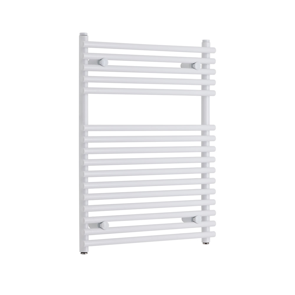 Kudox - Flat White Bar on Bar Towel Rail 750mm x 600mm
