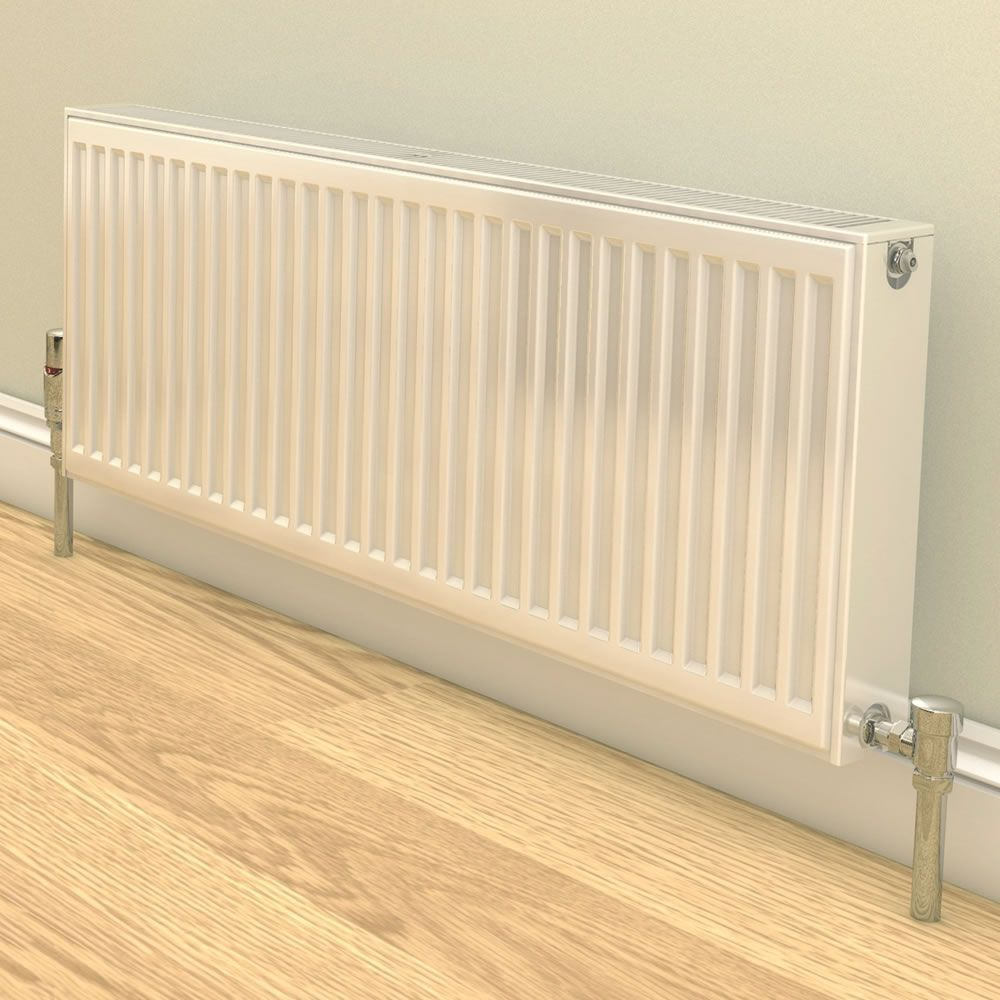 Stelrad Compact - Type 22 Double Panel Convector Radiator (K2) - 600mm x 500mm
