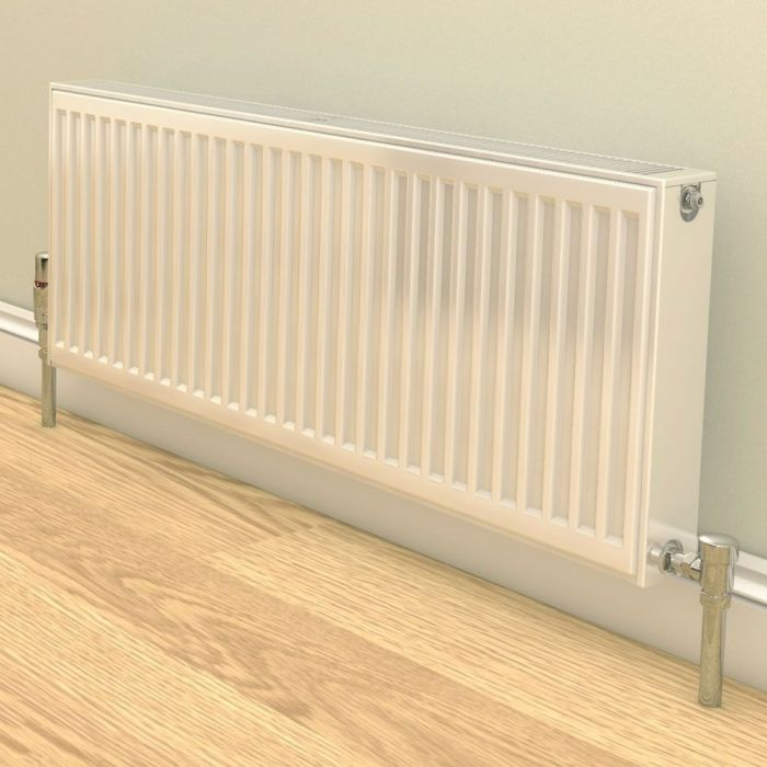 Stelrad Compact - Type 22 Double Panel Convector Radiator (K2) - 450mm x 400mm