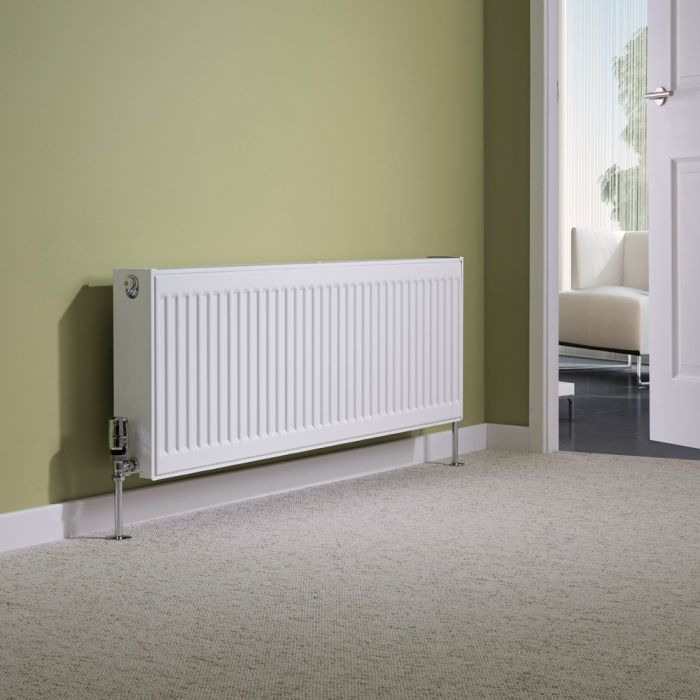 Milano Compact - Type 22 Double Panel Radiator - 400mm x 1200mm