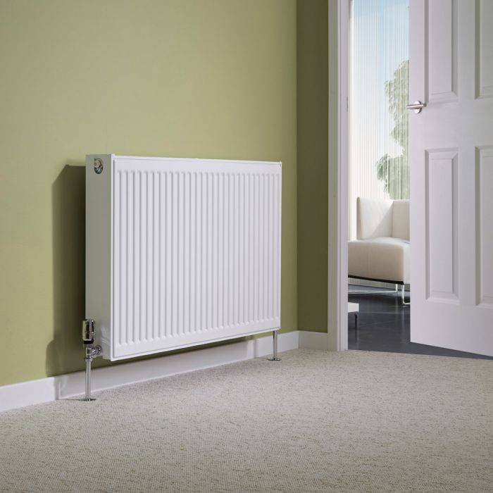 Milano Compact - Type 22 Double Panel Radiator - 600mm x 1000mm