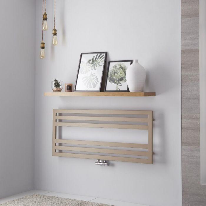 Lazzarini Way - Urbino - Mineral Quartz Designer Heated Towel Rail - 500mm x 1200mm