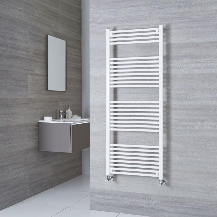 Milano Calder - Flat White Heated Towel Rail 1500mm x 600mm