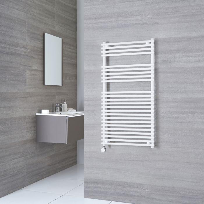 Kudox Electric - Flat White Bar on Bar Towel Rail 1150mm x 450mm