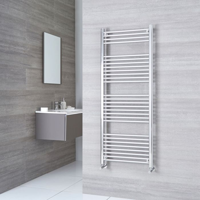 Kudox - Premium Flat Heated Bathroom Towel Rail 1500mm x 500mm