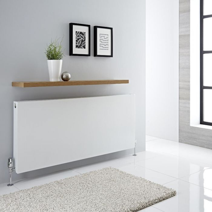 Milano Mono - Double Flat Panel Plus Convector Radiator - 600mm x 1400mm