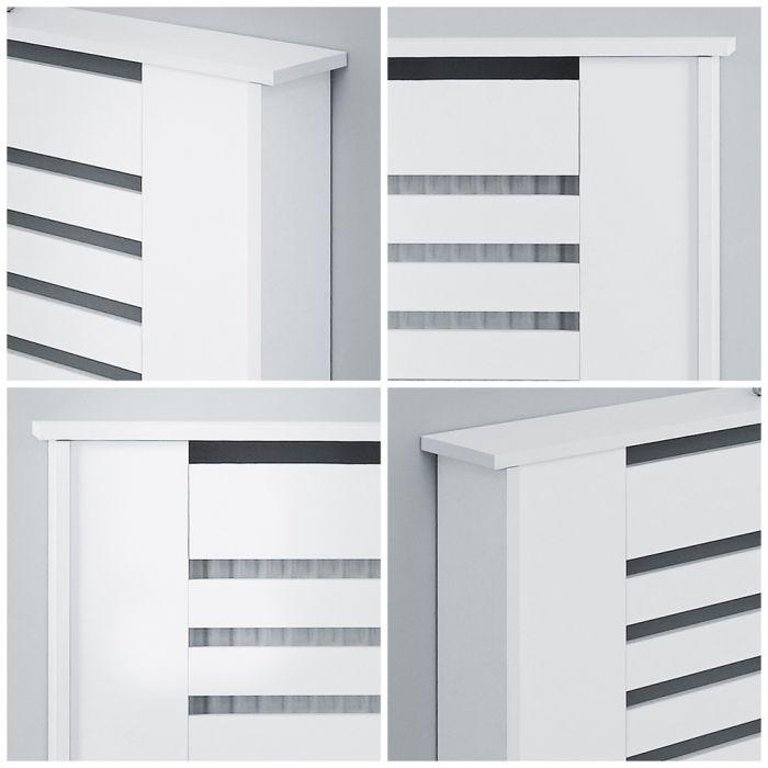 Milano Elstree - White Radiator Cabinet - 815mm x 1520mm