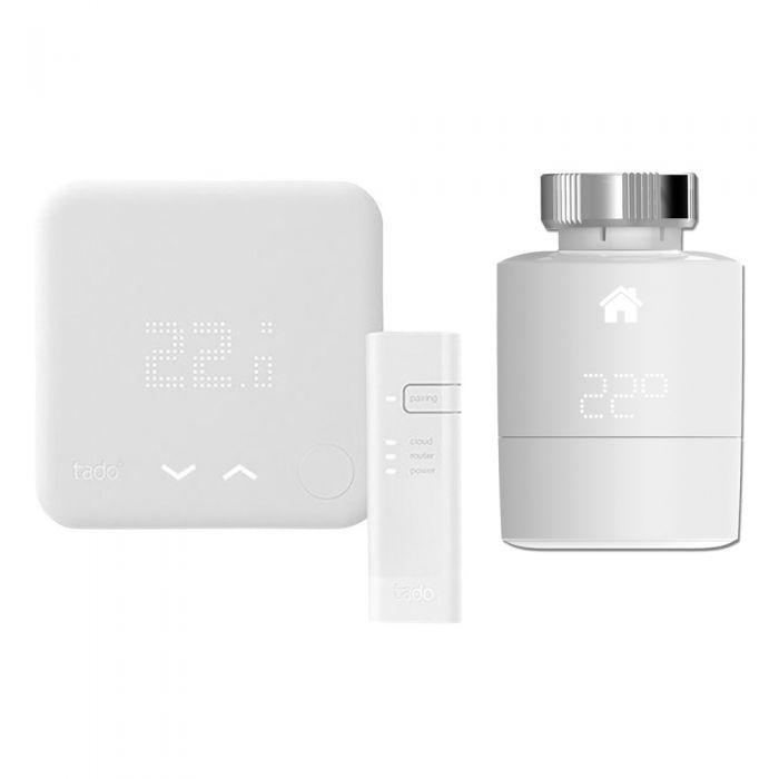 Tado° - Smart Thermostat & Smart Radiator Thermostat Starter Kit (v3) - (Horizontal)