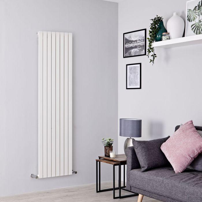 Milano Capri - White Vertical Flat Panel Designer Radiator 1780mm x 472mm