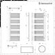 Lazzarini Way - Grado - Chrome Designer Heated Towel Rail - 1600mm x 600mm