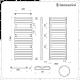 Lazzarini Way - Torino - Anthracite Designer Heated Towel Rail - 1360mm x 550mm