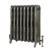 Milano Beatrix - Ornate Cast Iron Radiator - 768mm Tall - Antique Brass - Multiple Sizes Available