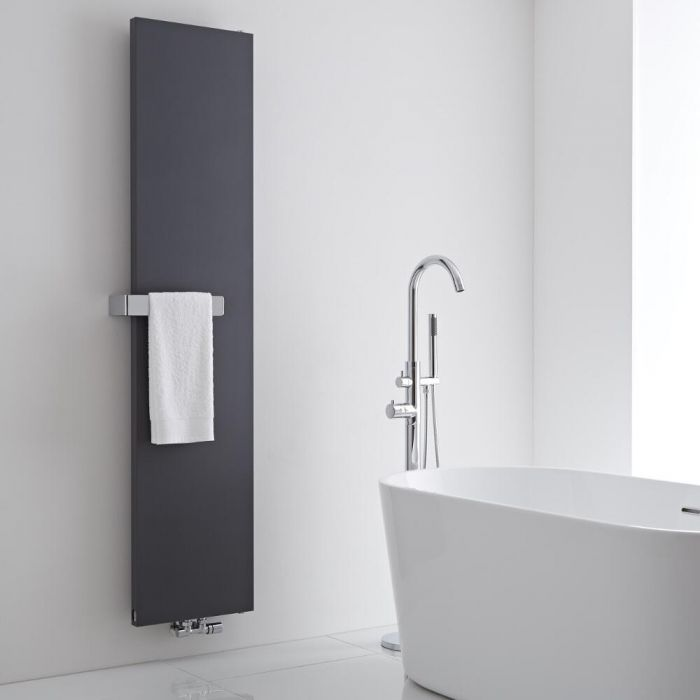 Milano Wall Mounted Towel Rail - 320mm x 60mm