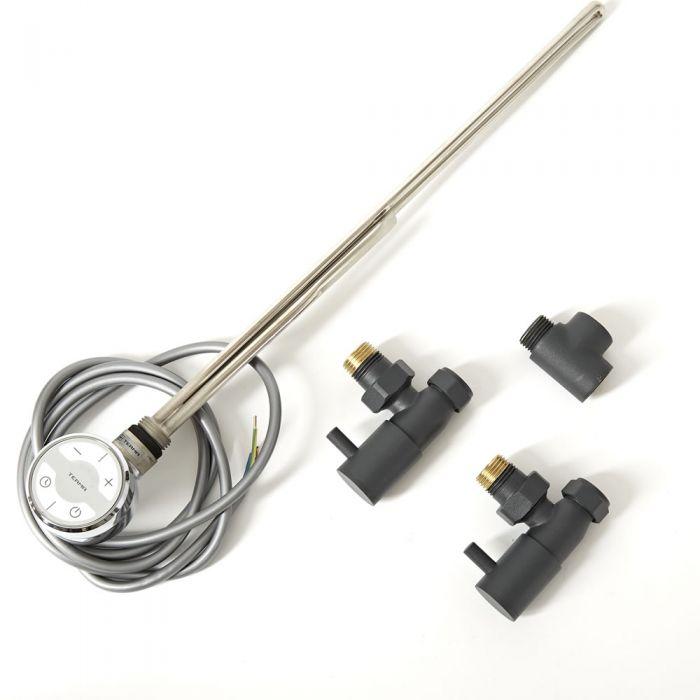 Milano - Dual Fuel Radiator or Heated Towel Rail Kit - Various Options