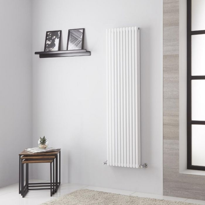 Lazzarini Way - Grosseto V - White Designer Radiator - 1506mm x 392mm