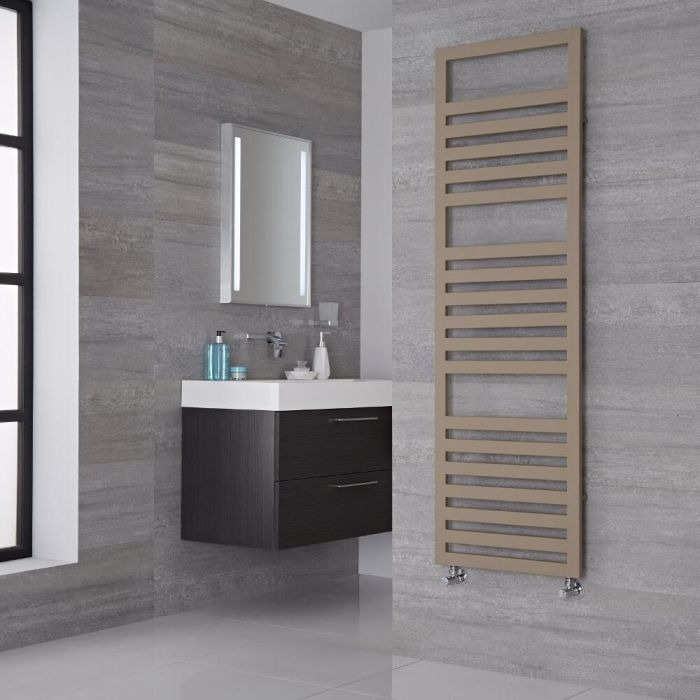 Lazzarini Way - Urbino - Mineral Quartz Designer Heated Towel Rail - 1600mm x 500mm