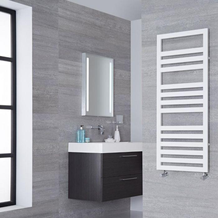 Lazzarini Way - Urbino - White Designer Heated Towel Rail - 1200mm x 500mm