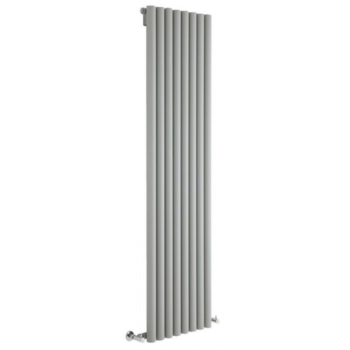 Milano Java - Silver Vertical Designer Radiator - Various Sizes