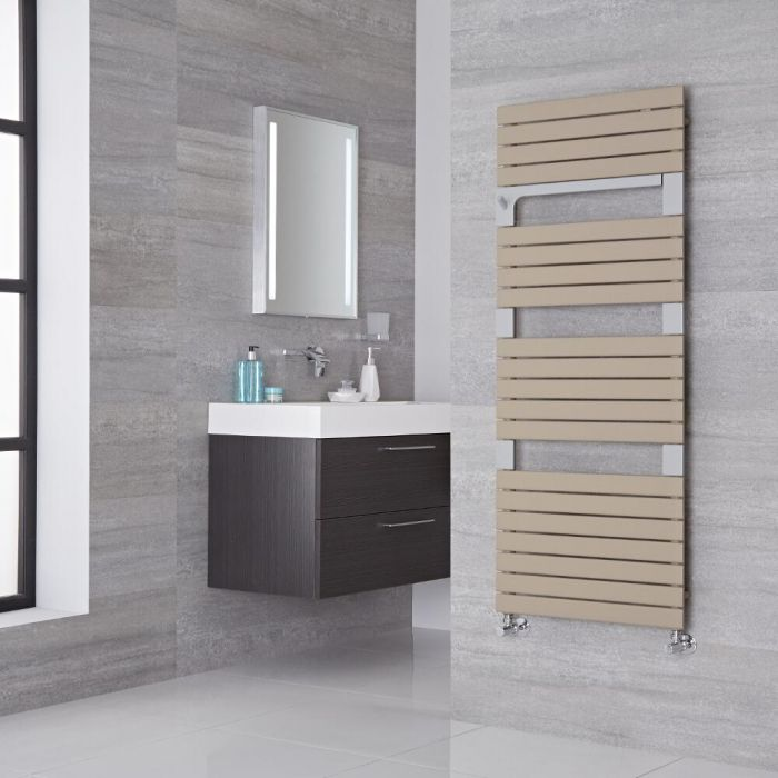 Lazzarini Way - Torino - Mineral Quartz Designer Heated Towel Rail - 1360mm x 550mm