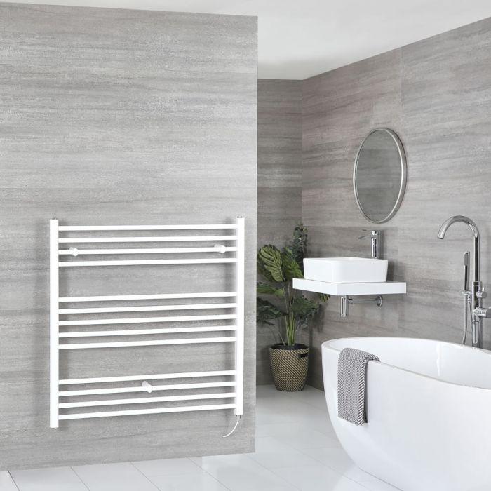 Milano Ive Electric - Flat White Heated Towel Rail 1000mm x 1000mm