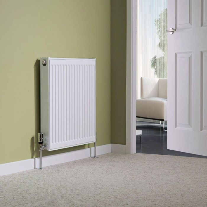 Milano Compact - Type 11 Single Panel Radiator - 600mm x 600mm