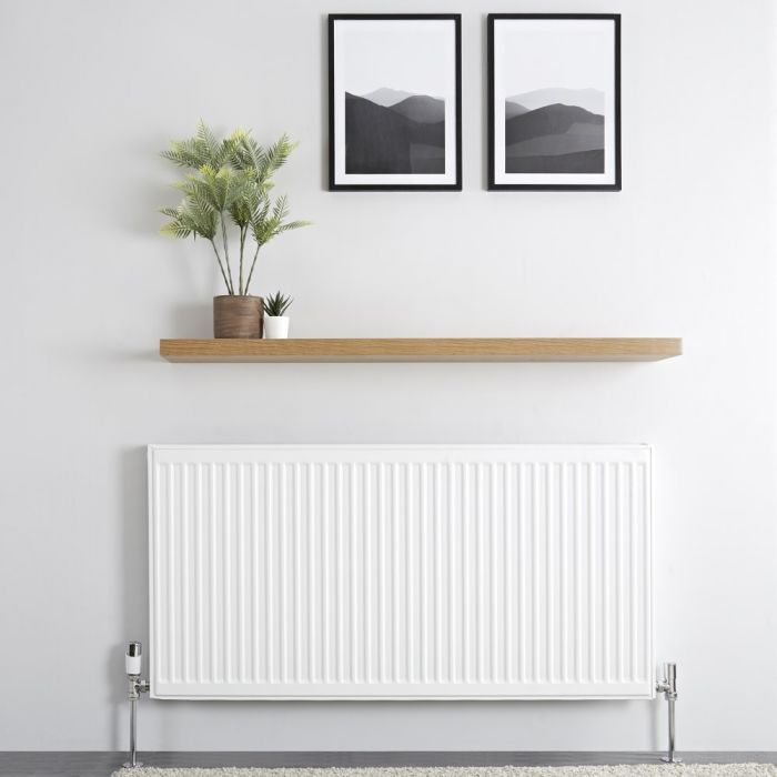 Milano Compact - Type 11 Single Panel Radiator - 600mm x 1200mm