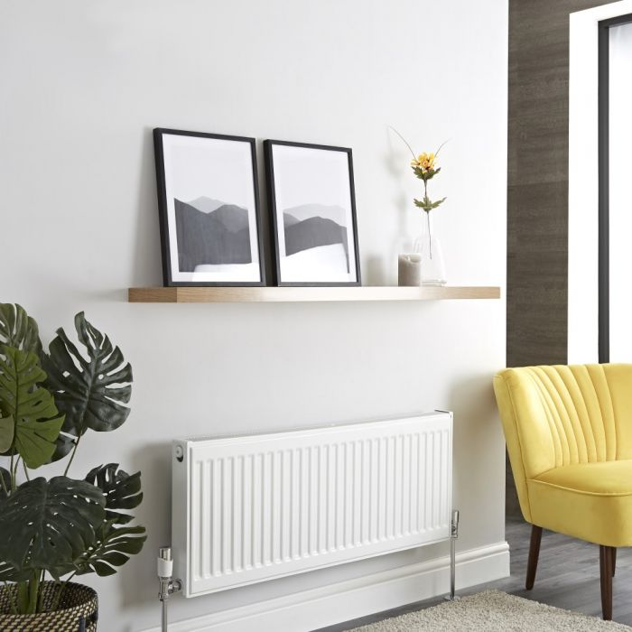 Milano Compact - Type 21 Double Panel Plus Radiator - 400mm x 1000mm