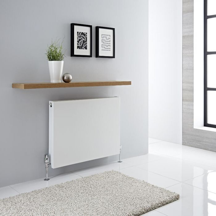Milano Mono - Double Flat Panel Plus Convector Radiator - 600mm x 800mm