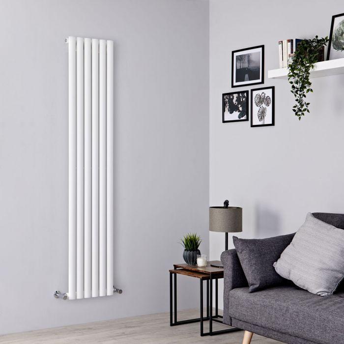 Milano Aruba - White Vertical Designer Radiator 1780mm x 354mm