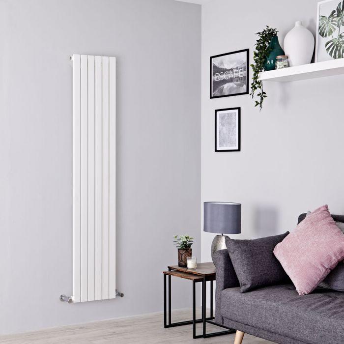 Milano Capri - White Vertical Flat Panel Designer Radiator 1780mm x 354mm