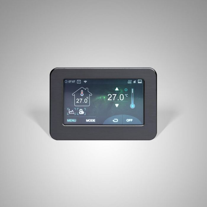 Milano Connect - Wi-Fi Touchscreen Thermostat for Electric Heating