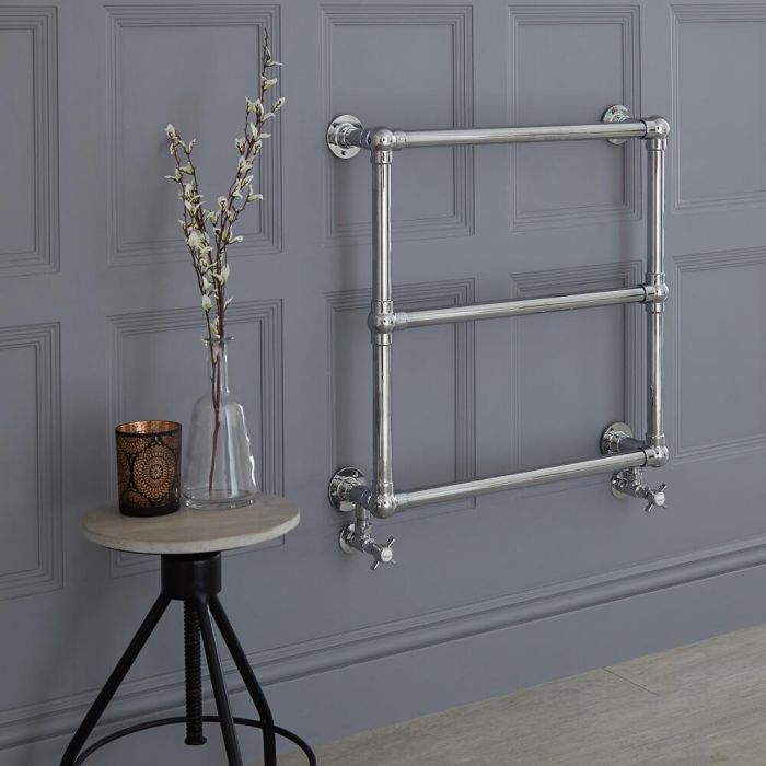 Milano Derwent - Traditional Heated Towel Rail 685mm x 685mm