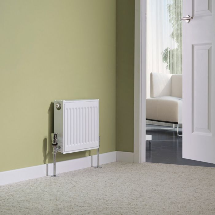 Milano Compact - Type 11 Single Panel Radiator - 300mm x 400mm