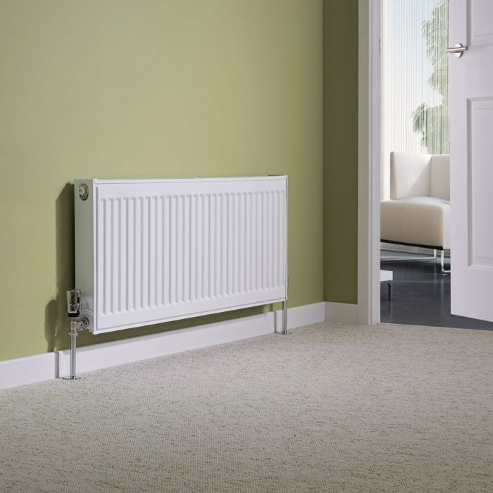 Milano Compact - Type 11 Single Panel Radiator - 400mm x 1000mm