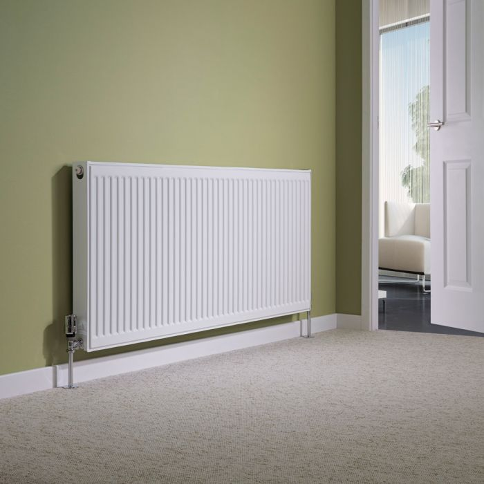 Milano Compact - Type 11 Single Panel Radiator - 600mm x 1400mm