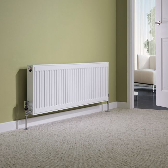 Milano Compact - Type 21 Double Panel Plus Radiator - 400mm x 1200mm