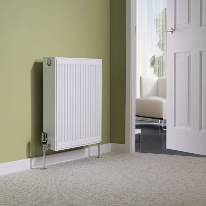 Milano Compact - Type 22 Double Panel Radiator - 600mm x 600mm