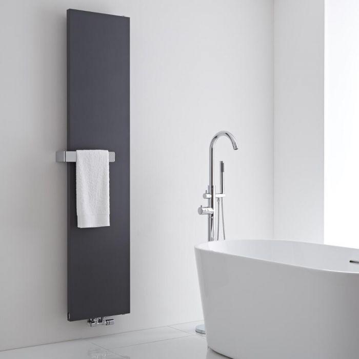 Milano Wall Mounted Towel Rail - 320mm x 60mm