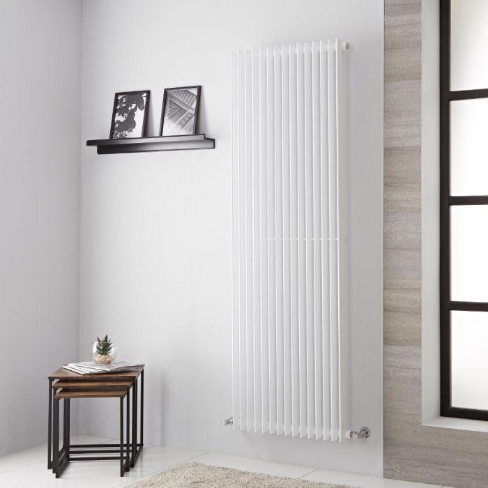 Lazzarini Way - Arezzo - White Vertical Designer Radiator - 1800mm x 605mm