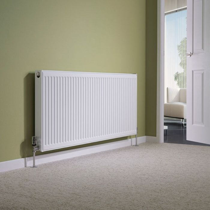 Milano Compact - Type 11 Single Panel Radiator - 600mm x 1600mm