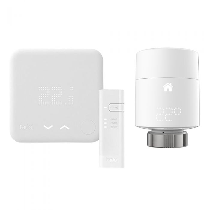 Tado° - Smart Thermostat & Smart Radiator Thermostat Starter Kit (V3) - (Vertical)