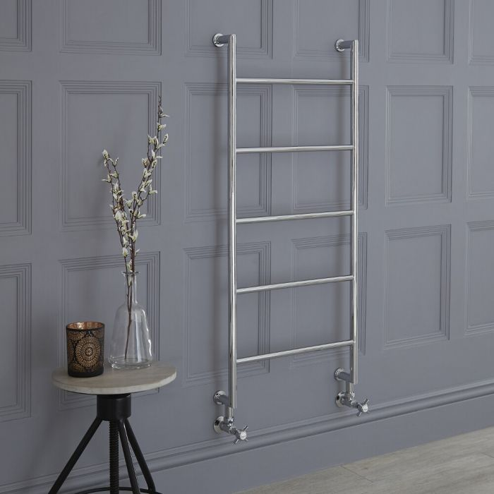 Milano Derwent - Traditional Heated Towel Rail 1110mm x 500mm
