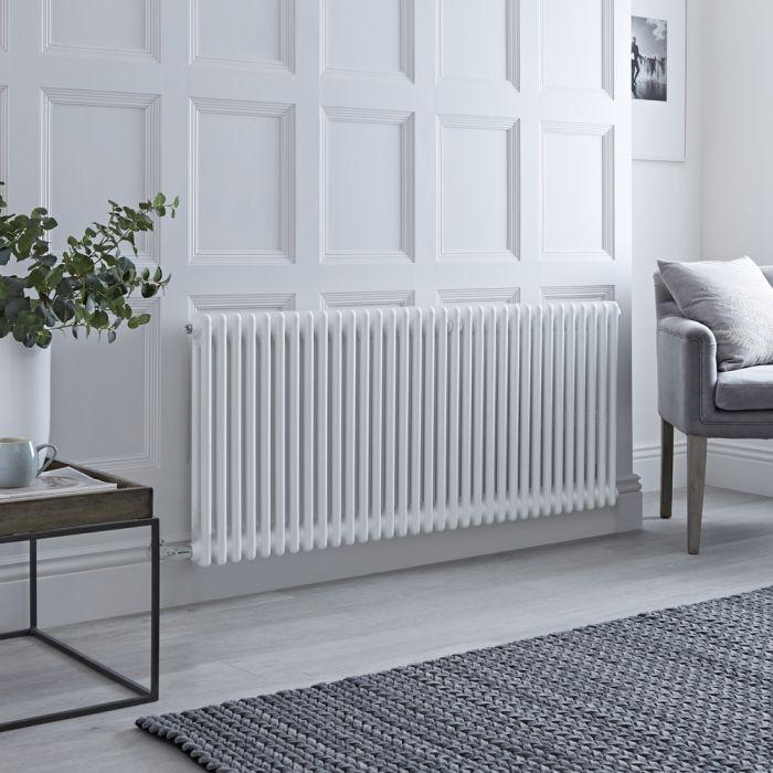 Milano Windsor - Traditional White 2 Column Electric Radiator 600mm x 1505mm (Horizontal)