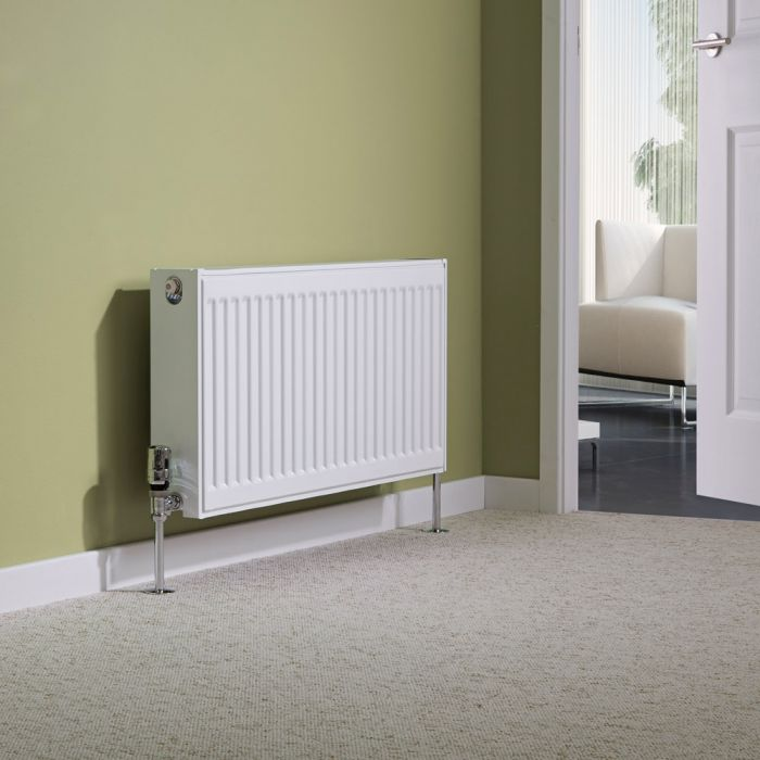 Milano Compact - Type 22 Double Panel Radiator - 400mm x 800mm