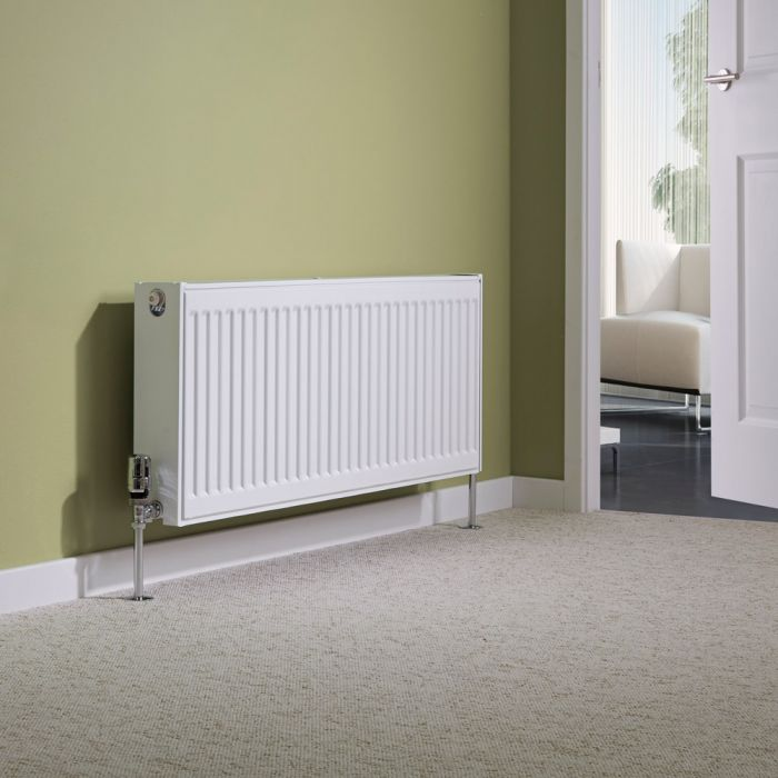 Milano Compact - Type 22 Double Panel Radiator - 400mm x 1000mm