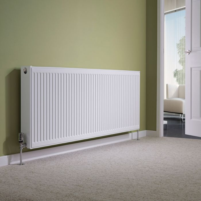 Milano Compact - Type 22 Double Panel Radiator - 600mm x 1600mm