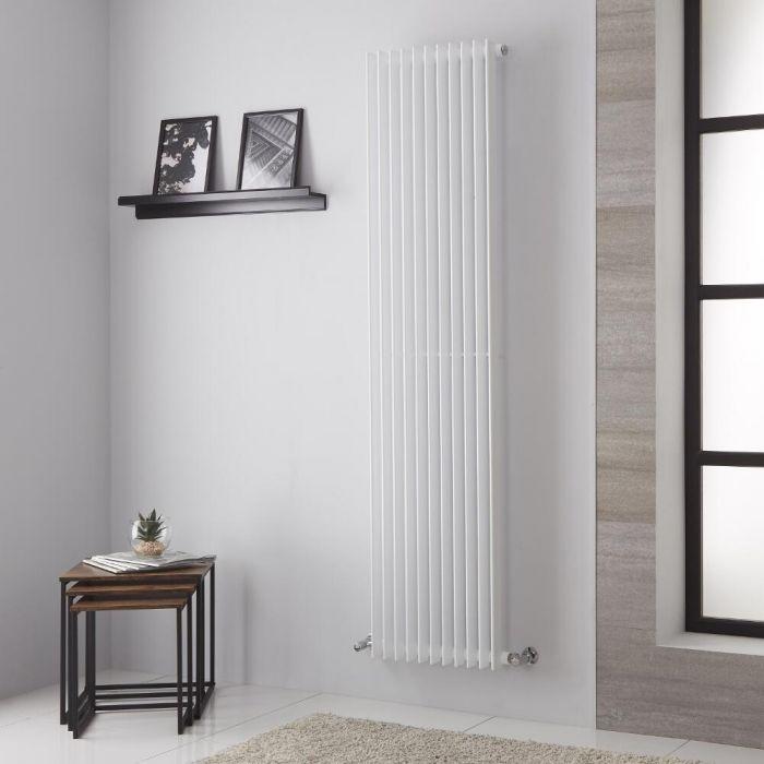 Lazzarini Way - Arezzo - White Vertical Designer Radiator - 1800mm x 445mm