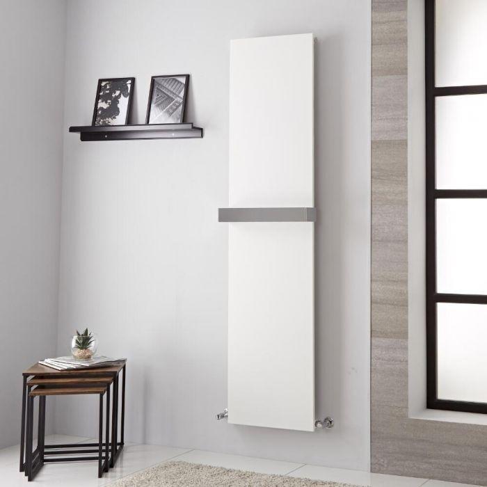 Lazzarini Way - Ischia - Mineral White Vertical Designer Radiator - 1800mm x 450mm