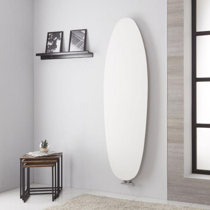 Lazzarini Way - Tavolara - Mineral White Vertical Designer Radiator - 1728mm x 535mm