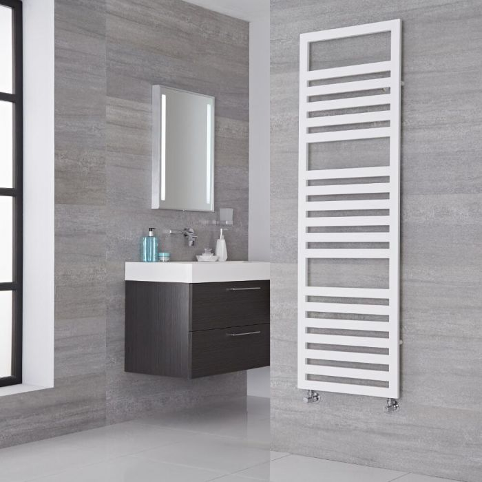 Lazzarini Way - Urbino - White Designer Heated Towel Rail - 1600mm x 500mm
